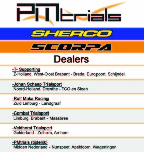 Dealers PM Trials Scorpa - Sherco Trial